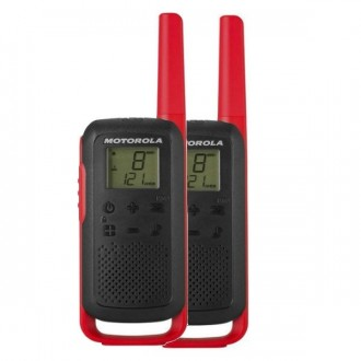 Talkie walkie Motorola TLKR T62 - Rouge - Devis sur Techni-Contact.com - 1