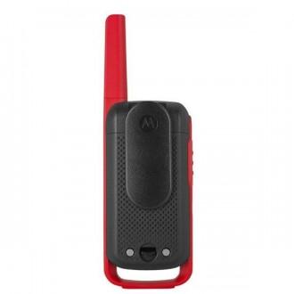 Talkie walkie Motorola TLKR T62 - Rouge - Devis sur Techni-Contact.com - 2