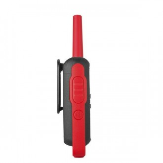 Talkie walkie Motorola TLKR T62 - Rouge - Devis sur Techni-Contact.com - 3