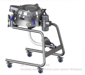 Tamiseur vibrant transfert pneumatique - Devis sur Techni-Contact.com - 1