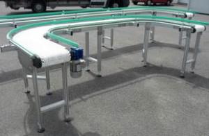 Tapis convoyeur modulaire en inox et aluminium - Devis sur Techni-Contact.com - 1