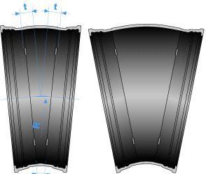 Té à joint verrouillé STANDARD PAMLOCK et tubulure bride PN 25 - Devis sur Techni-Contact.com - 1