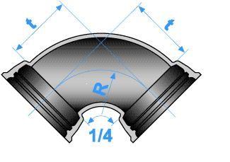 Té CLASSIQUE à joint EXPRESS et tubulure bride PN 25 - Devis sur Techni-Contact.com - 1