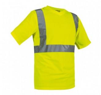 Tee shirt col V de signalisation - Devis sur Techni-Contact.com - 1