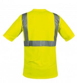 Tee shirt col V de signalisation - Devis sur Techni-Contact.com - 3
