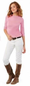 Tee-shirt personnalisable manches longues femme jersey - Devis sur Techni-Contact.com - 1