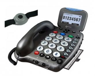 Téléphone avec bracelet d'appel d'urgence - Devis sur Techni-Contact.com - 1