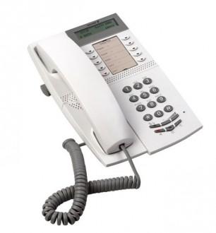 Téléphone fixe avec écran et prise casque - Devis sur Techni-Contact.com - 1