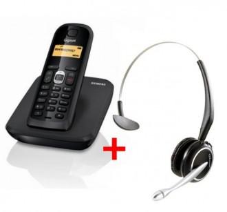 Téléphone sans fil avec casque - Devis sur Techni-Contact.com - 1