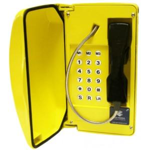 Téléphone VoIP avec porte Fonte d Aluminium  - Devis sur Techni-Contact.com - 1