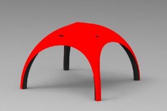 Tente gonflable 6x6m - Devis sur Techni-Contact.com - 1
