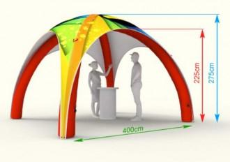 Tente publicitaire gonflable - Devis sur Techni-Contact.com - 7