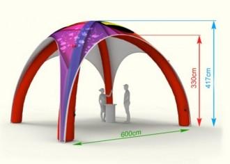 Tente publicitaire gonflable - Devis sur Techni-Contact.com - 8