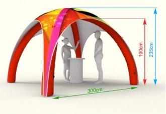 Tente publicitaire gonflable - Devis sur Techni-Contact.com - 9