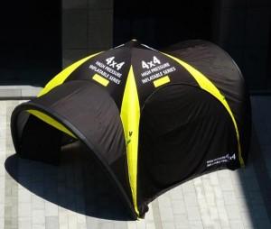 Tente publicitaire gonflable personnalisable - Devis sur Techni-Contact.com - 2