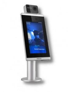 Terminal de reconnaissance faciale pour dépistage fièvre - Devis sur Techni-Contact.com - 1