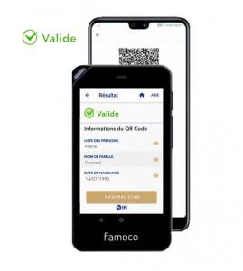 Terminal lecteur pass sanitaire mobile - Devis sur Techni-Contact.com - 1