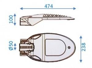 Lanterne LED d'éclairage public - Devis sur Techni-Contact.com - 4