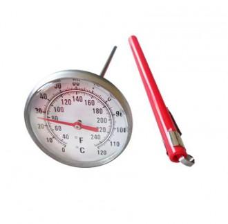 Thermomètre à cadran inox pour viande - Devis sur Techni-Contact.com - 1