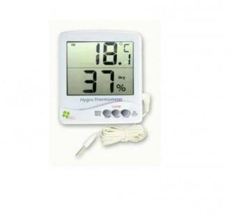 Thermomètre hygromètre intérieur extérieur - Devis sur Techni-Contact.com - 1