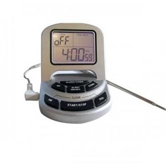 Thermomètre digital sonde inox avec alarme - Devis sur Techni-Contact.com - 1
