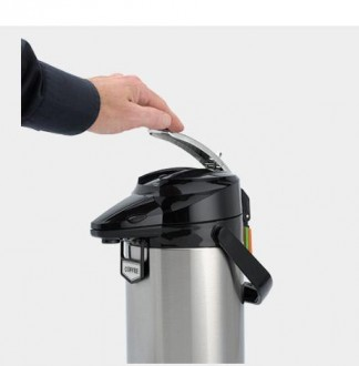 Thermos à pompe maintien en température - Devis sur Techni-Contact.com - 3