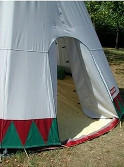 Tipi tente de camping familiale - Devis sur Techni-Contact.com - 2