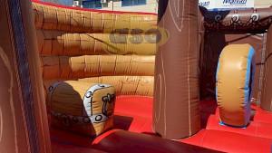 Toboggan Gonflable bateau des moussaillons - Devis sur Techni-Contact.com - 3
