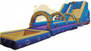 Toboggan gonflable modèle Aquatico - Devis sur Techni-Contact.com - 2