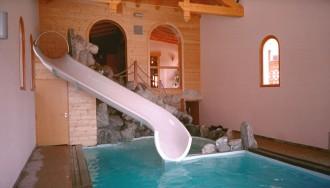 Toboggan pour piscine d'intérieur - Devis sur Techni-Contact.com - 1