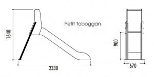 Toboggans en polyéthylène - Devis sur Techni-Contact.com - 3