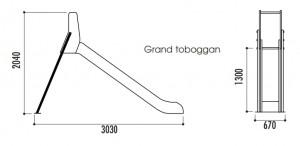 Toboggans en polyéthylène - Devis sur Techni-Contact.com - 4