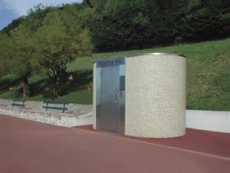 Toilette public simple en béton - Devis sur Techni-Contact.com - 1