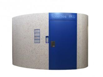Toilette public simple en carrelage - Devis sur Techni-Contact.com - 1