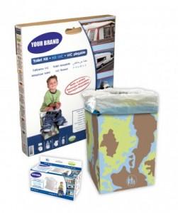 Toilette sèche jetable - Devis sur Techni-Contact.com - 1
