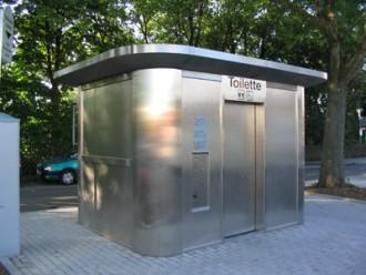 Toilettes exterieures Personnalisés en inox brossé - Devis sur Techni-Contact.com - 1