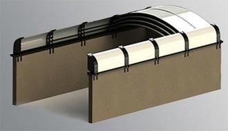 Toit découvrable en polycarbonate - Devis sur Techni-Contact.com - 1