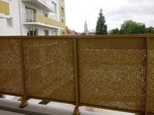 Tôle perforée décorative – Modèle URBIS AURORA sur-mesure - Devis sur Techni-Contact.com - 3
