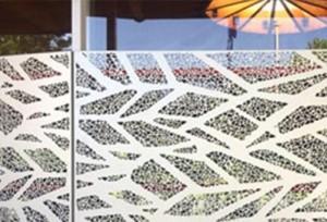 Tôle perforée décorative – Modèle CAPRICHO RIDGE sur-mesure - Devis sur Techni-Contact.com - 3