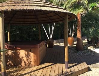 Tonnelle savannalodge en chaume - Devis sur Techni-Contact.com - 2