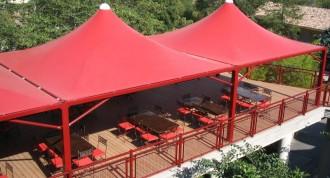 Tonnelle terrasse CHR - Devis sur Techni-Contact.com - 1