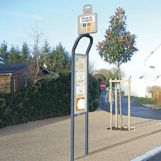 Totem arrêt de bus - Devis sur Techni-Contact.com - 2