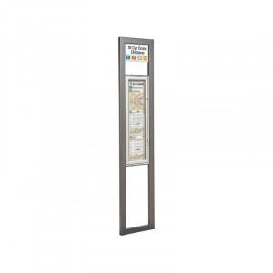 Totem arrêt de bus carré - Devis sur Techni-Contact.com - 1
