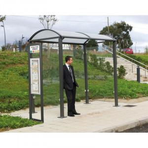 Totem arrêt de bus carré - Devis sur Techni-Contact.com - 2
