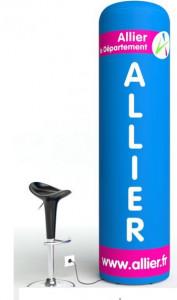 Totem gonflable air ventilé - Devis sur Techni-Contact.com - 2