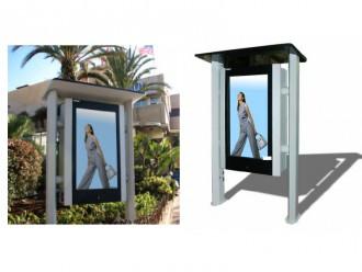 Totem LCD outdoor - Devis sur Techni-Contact.com - 1