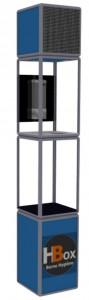 Totem LED distributeur de gel hydroalcoolique - Devis sur Techni-Contact.com - 1