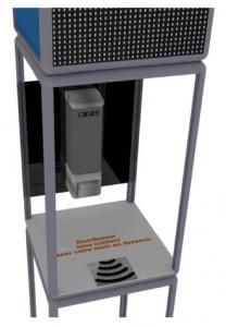 Totem LED distributeur de gel hydroalcoolique - Devis sur Techni-Contact.com - 2