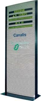 Totem mobile avec affichage lumineux - Devis sur Techni-Contact.com - 1