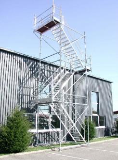 Tour d'accès chantier - Devis sur Techni-Contact.com - 1